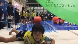 エアートラック・エアーロール使用風景(愛知教育大学付属岡崎小学校 )
