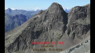 Klettersteig Jägihorn : Klettersteig jegihorn saas fee kopfüber sportreisen web mp