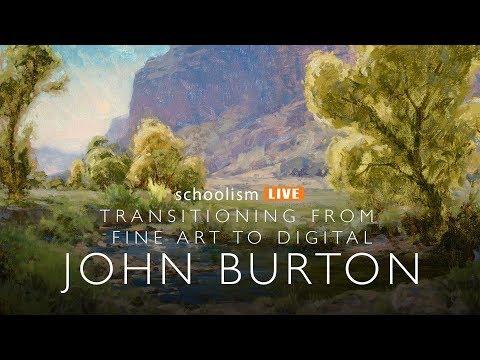 Transitioning from Fine Art to Digital, John Burton