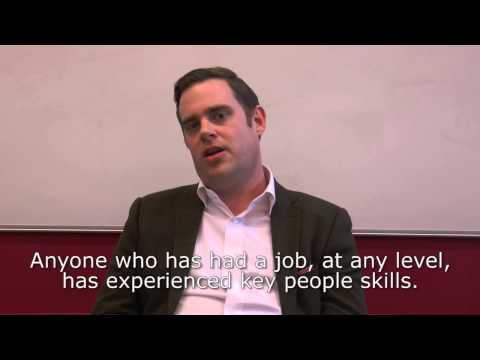 Teaching business English using soft skills or people skills