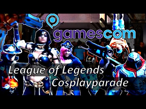 Gamescom - League of Legends - Cosplayparade - Sunday/Sonntag - 2014