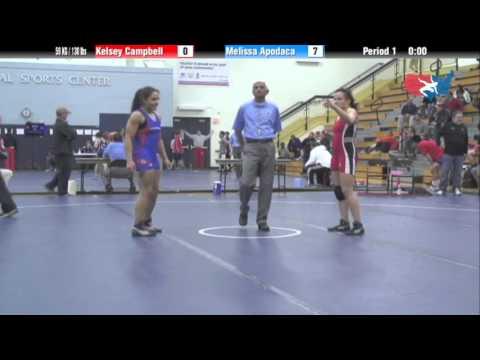 WM FS 59 KG / 130 lbs - Kelsey Campbell vs. Melissa Apodaca