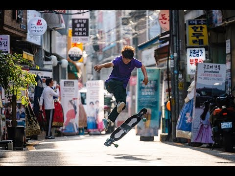 South Korea Longboarding | Save your Seoul | Jin Cha