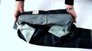 видео Мужские джинсы Bootcut