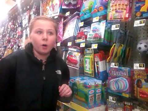 Looking for crush balls at dollar General ft. Addison