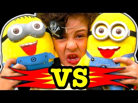 Minions Vs 1000 Degree Flamethrower Despicable Me Plush Toys On Fire