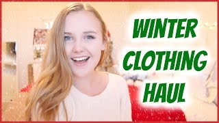 Winter Clothing Haul Thumbnail