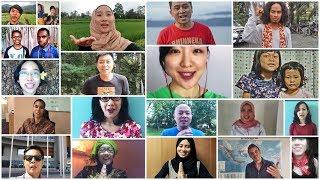 Download Video Ucapan Dirgahayu Indonesia dalam 40 Bahasa MP3 3GP MP4