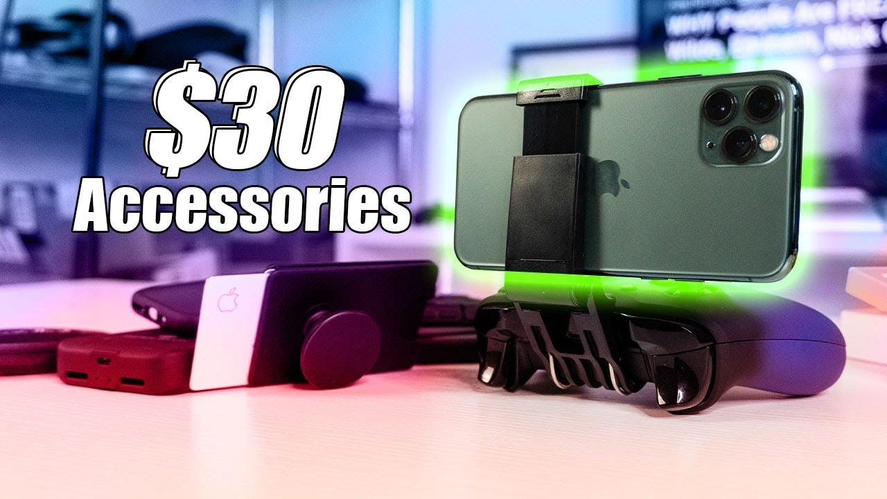 MUST HAVE Accessories for the iPhone 11 Pro! UNDER $30