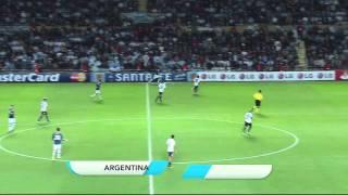 Primer Tiempo - Argentina x Uruguay - Copa América 2011