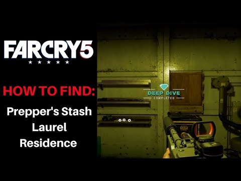FAR CRY 5 • How to Access Prepper's Stash • Laurel Residence