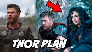 Thor Sent Hulk to Earth in Avengers Infinity War and Avenges 4