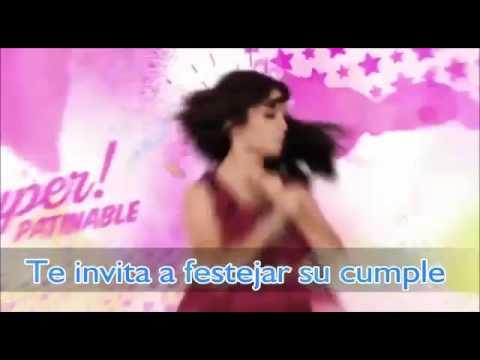 Tarjeta Virtual Para Melanie De Soy Luna Youtube