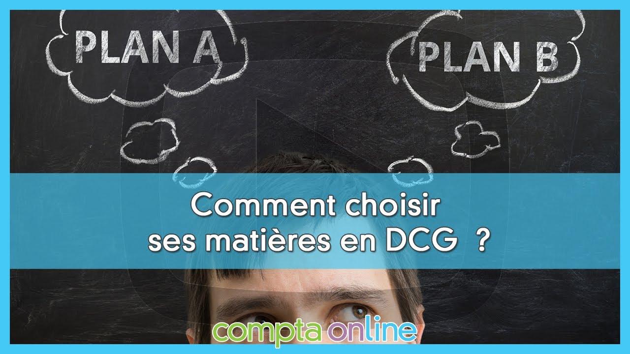 Choisir ses matières pour la préparation du DCG