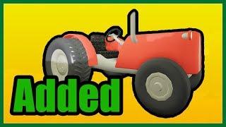 I trattori sono stati aggiunti (Benvenuti a FarmTown Roblox)