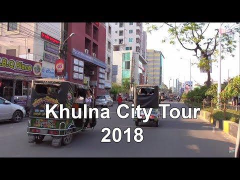 Khulna city Bangladesh (rupsha ferry ghat, Khan Jahan Ali Bridge)