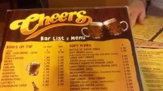 Cheers Pub Cyprus (кафе Протараса, Кипр).(Видео из паба Cheers, который находится в центре Протараса (Кипр). Лично нам этот паб понравился больше всех..., 2016-07-12T11:30:01.000Z)