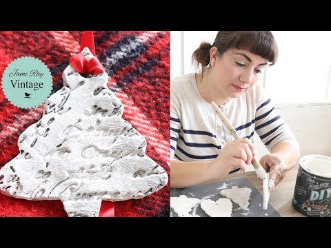 How To Make Ornaments With Air Dry Clay