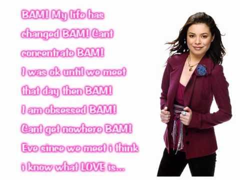 BAM Miranda Cosgrove Lyrics