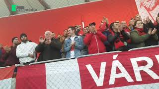 Ilyen a hangulat a Várkerti Stadionban! - Győz a köd? Lesz mérkőzés vagy sem?