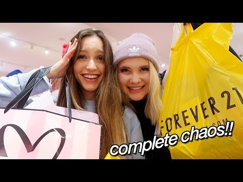 a very ~chaotic~ black friday vlog (+ haul!)