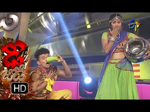 Dhee Jodi - Sanketh & Priyanka Performance - 13th July 2016 - ఢీ జోఢీ