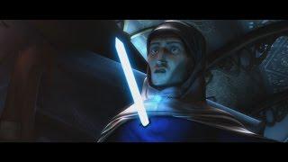 Star Wars: The Clone Wars - Anakin a cold-blooded killer (Tal Merrik's death) [1080p]