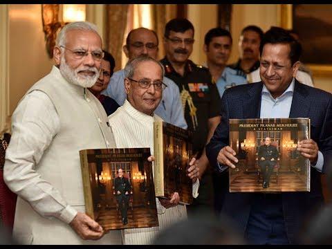 "PM Modi to release the book "" President Pranab Mukherjee - A statesman "" at Rashtrapati Bhavan"