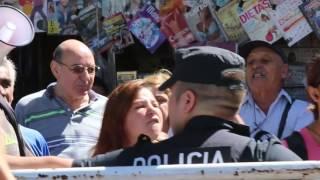 Macri en Constitución fue abucheado por la gente