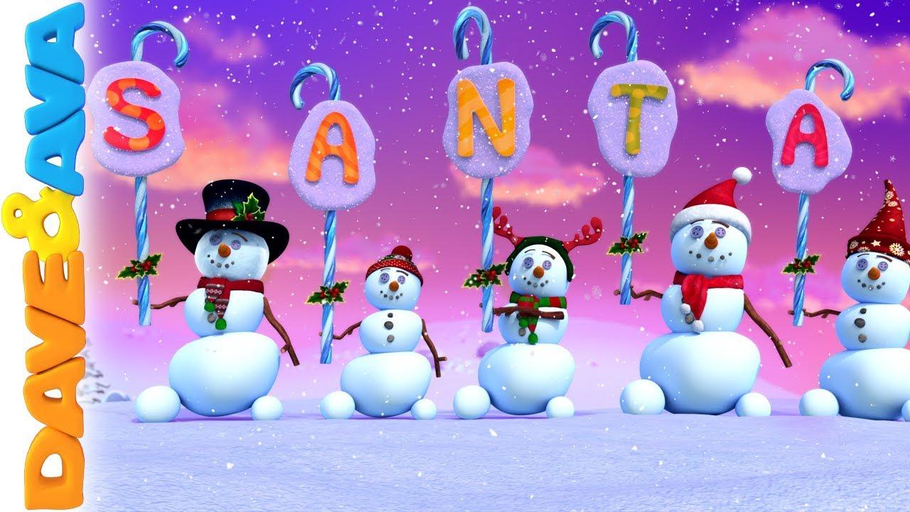 Christmas Songs And Nursery Rhymes Dave And Ava Christmas