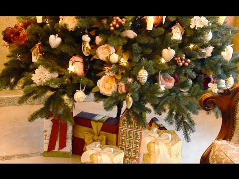 Как Украсить Елку, Новогодний Декор Челлендж. DIY Christmas Decor Challenge - Duration: 1:30.
