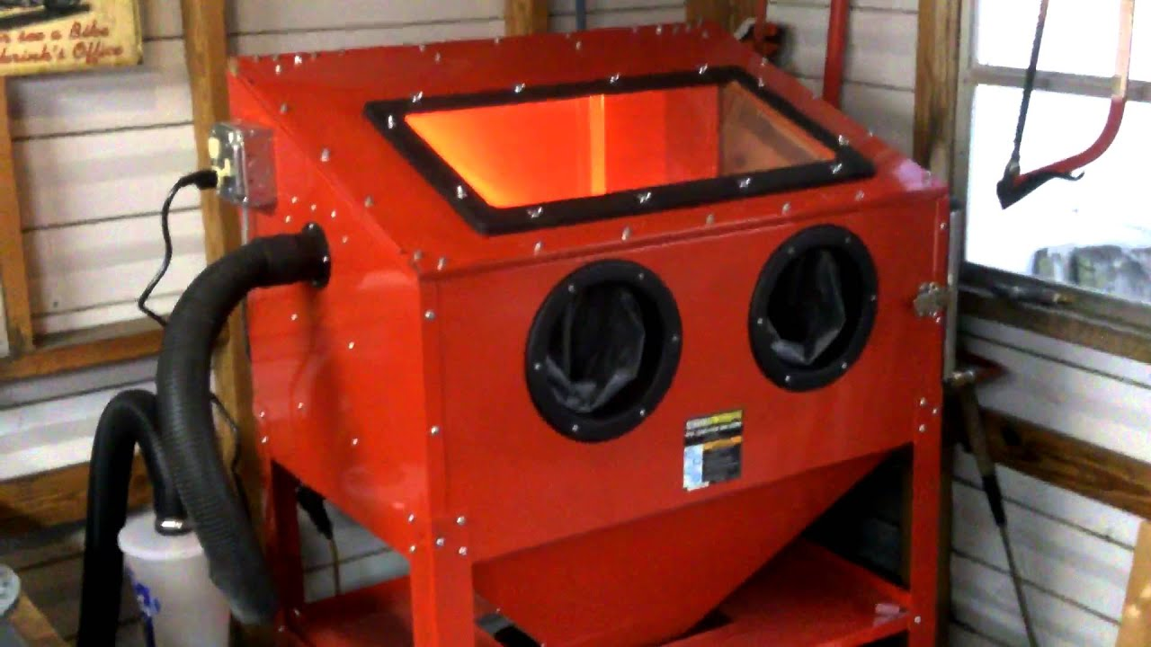 Harbor Freight Blasting Cabinet Upgrades | Cabinets Matttroy