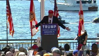 Trump: All candidates controlled by money, I'm self-funded