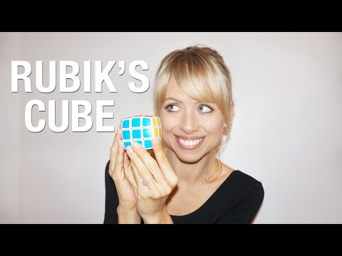 Solve the rubik's cube with NO crazy algorithms | Superholly