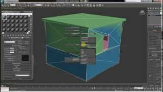 3DsMax. Правильное создание здания.Текстурирование.