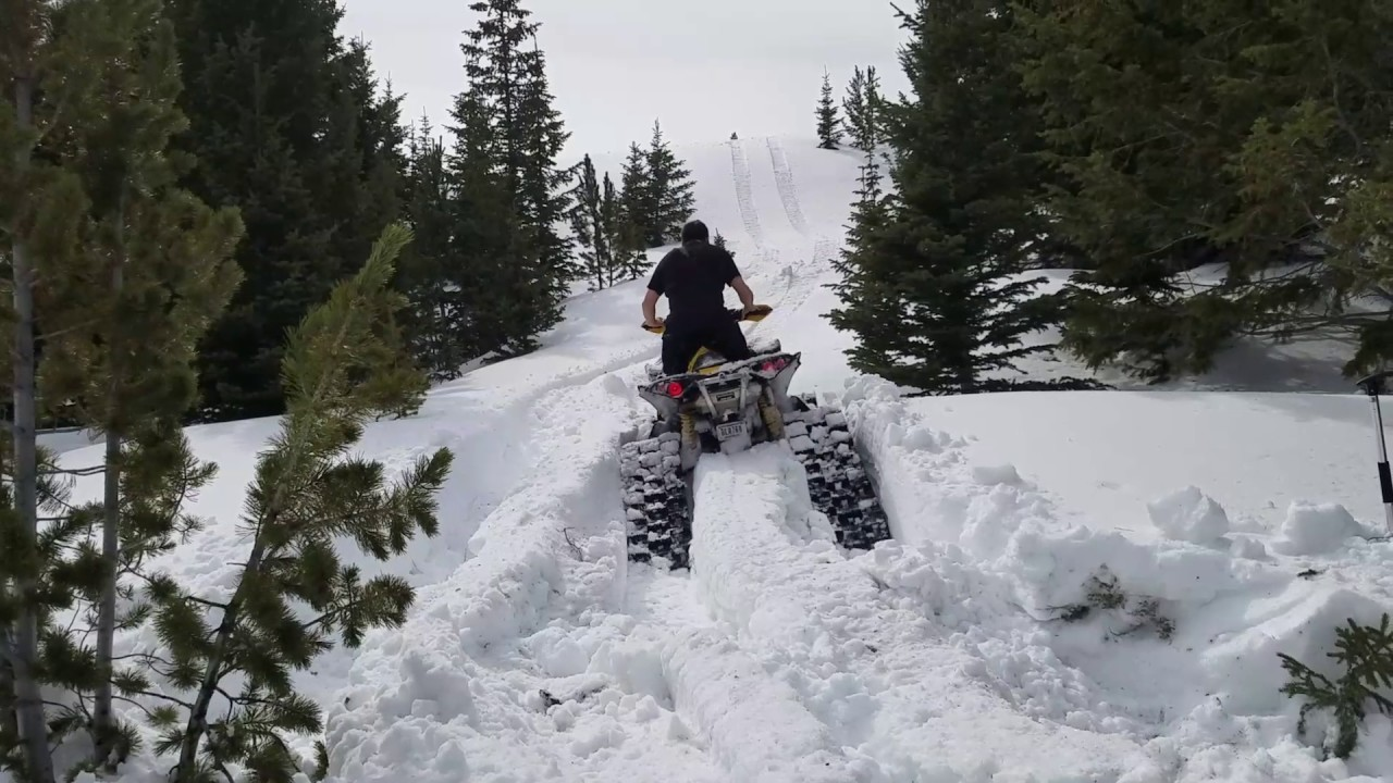 Canam New Apache Backcountry Tracks Youtube