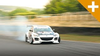 Mad Mike Drifts His Rx-8: So Much Smoke, We Set Off The Goodwood Smoke Alarm - Carfection +