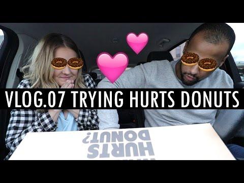 Vlog.07 Trying Hurts Donuts | Couple Vlog