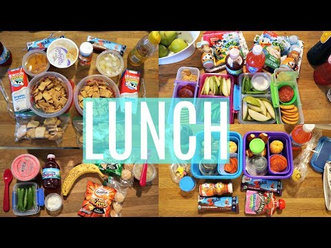 School Lunch Ideas!  - Week 14  | Sarah Rae Vlogas |