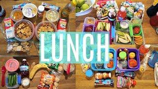 School Lunch Ideas!  - Week 14  | Sarah Rae Vlogas |