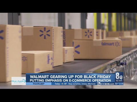 Walmart Gearing Up For Black Friday