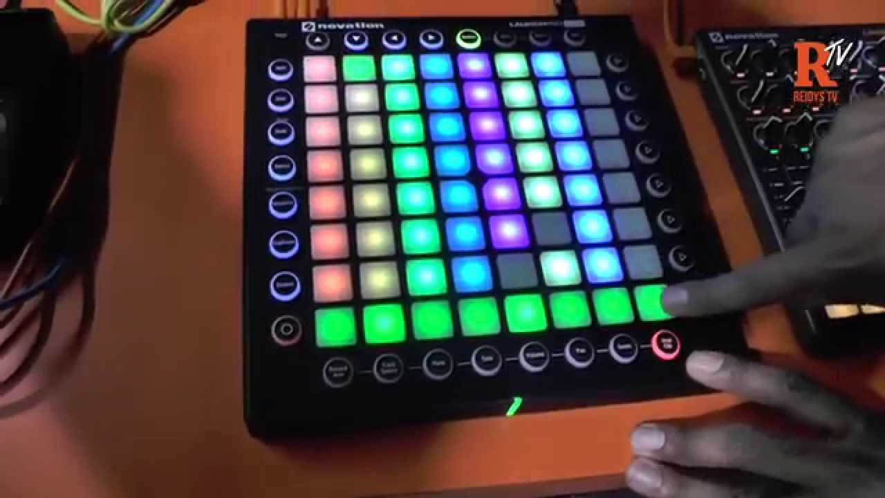 namm 2015 novation launchpad pro demo with thavius beck youtube. Black Bedroom Furniture Sets. Home Design Ideas