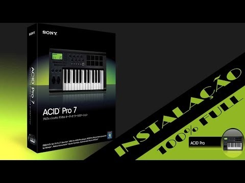 Tutorial Instalando e Ativando Acid Pro 7 no Windows 7 2014