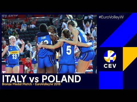 Italy vs Poland I #EuroVolleyW 2019 - Bronze Medal Match I FULL MATCH