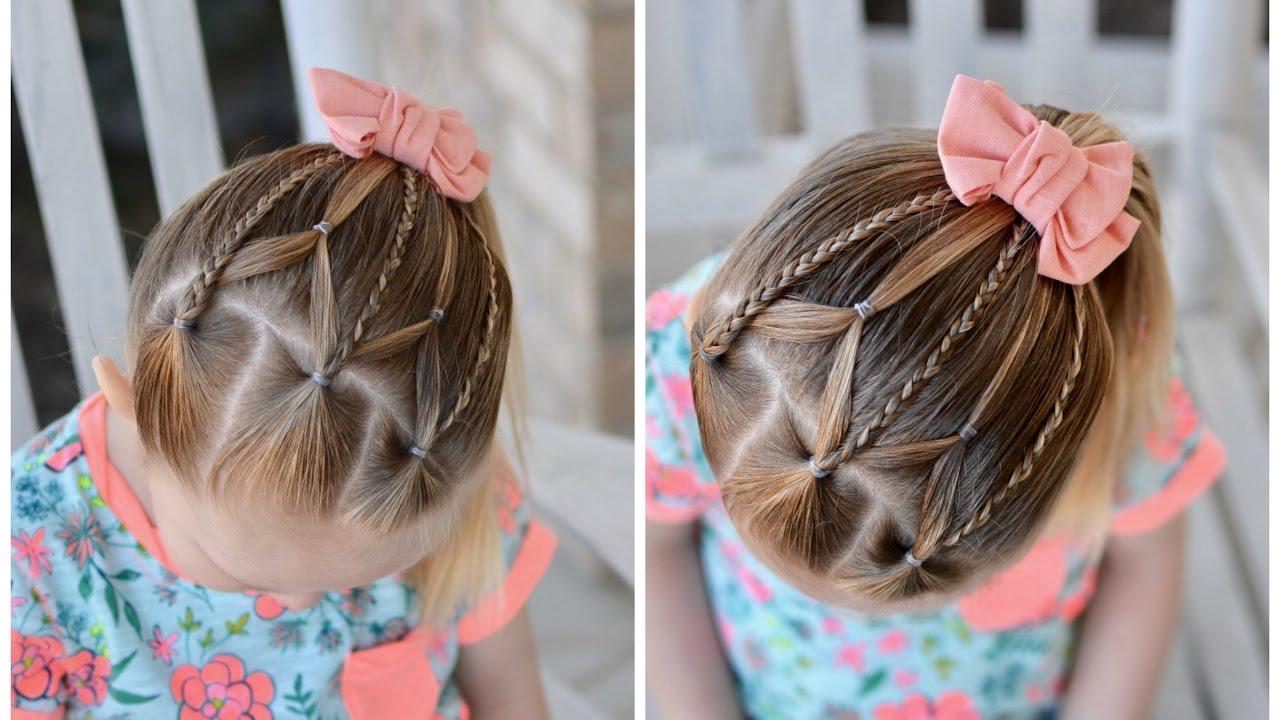 Toddler Braid Style Braids Amp Elastic Web Youtube