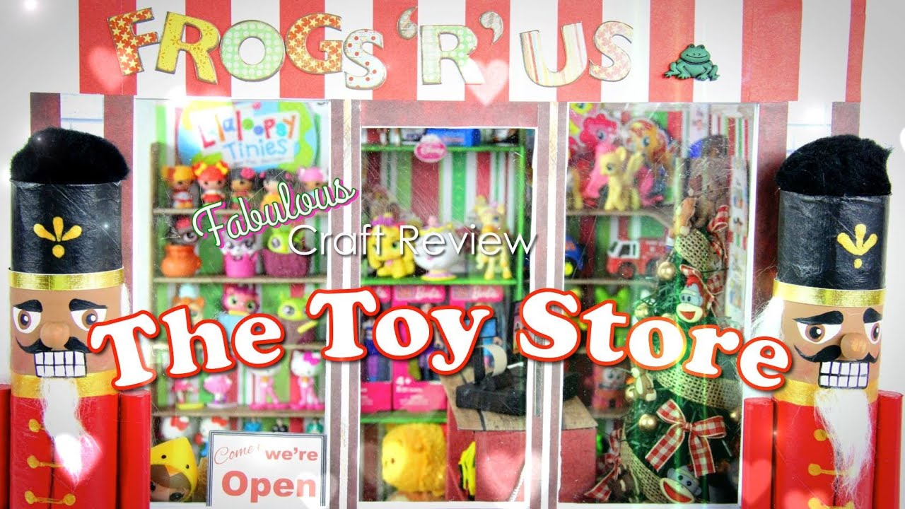 Fabulous craft review doll toy store youtube for Toys r us crafts