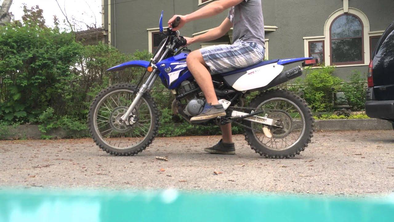 2007 Yamaha TTR 125L running video - YouTube