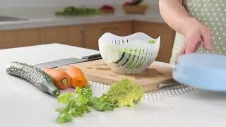 2018 New Salad Cutter Bowl Kitchen Gadget