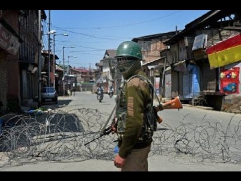 Curfew and Shutdown continues in Srinagar