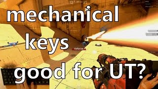 Unreal Tournament Pre-Alpha with Mechanical Keyboard - Should I use Spacebar to Fire?